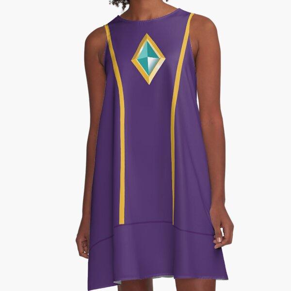 Goddess Sword's Gem A-Line Dress