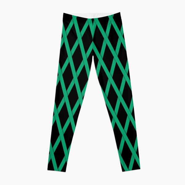 Grünes Kreuzband Leggings