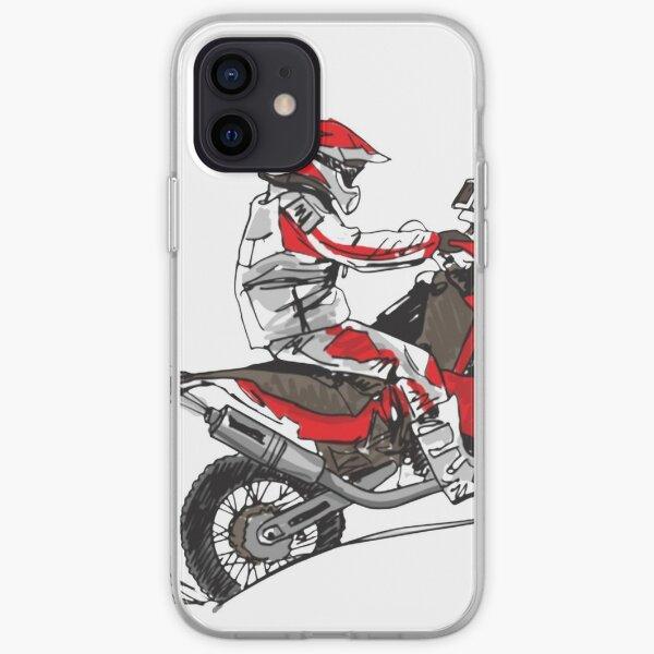 Dirt Bike Racing Coque souple iPhone