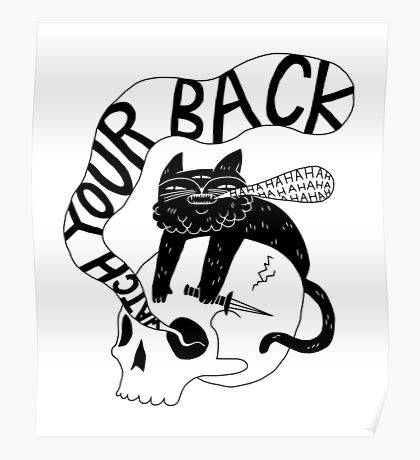 Watch Your Back Poster