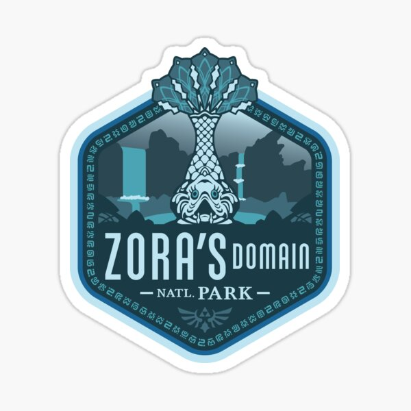 Zora's Domain National Park Sticker