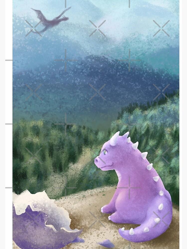 Dragon hatchling by PicajoArt