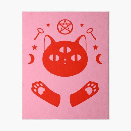 Magische Katze Okkult Design Galeriedruck