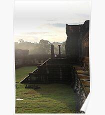 Sunrise on Angkor Wat II - Angkor, Cambodia. Poster