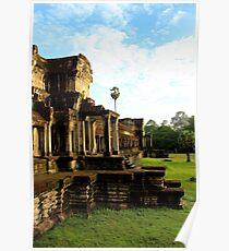 Sunrise on Angkor Wat VI - Angkor, Cambodia. Poster