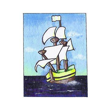 Sail Away by caromazing