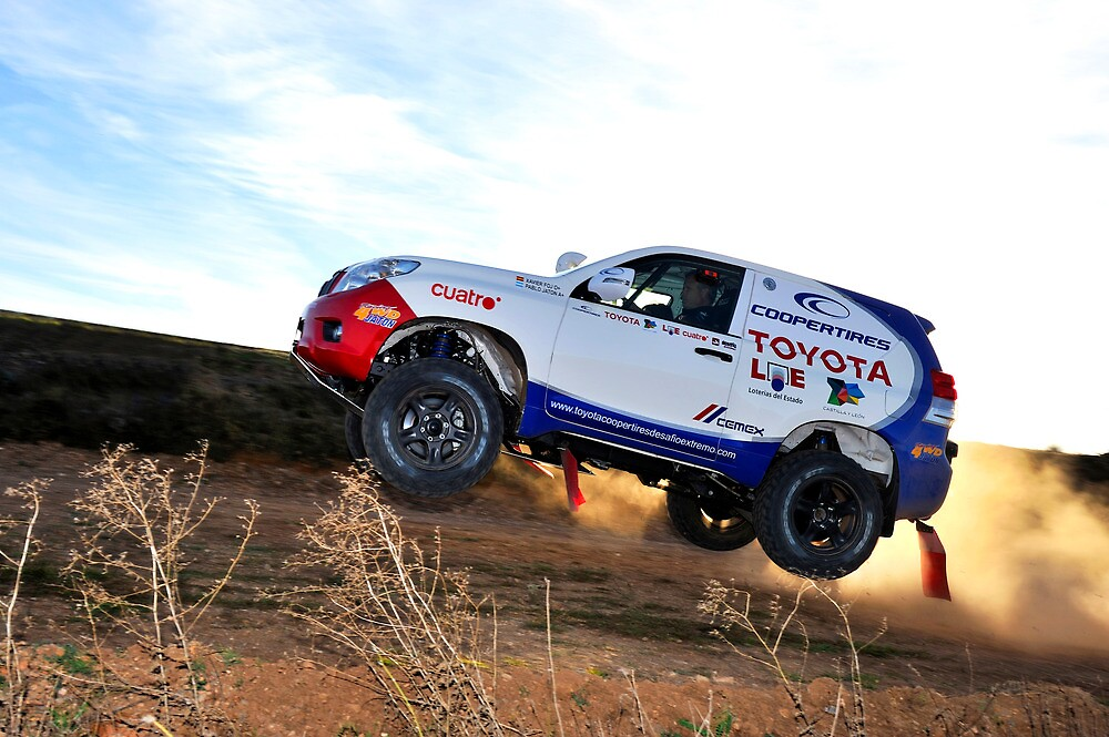 Toyota Dakar Race Car .... by M-Pics