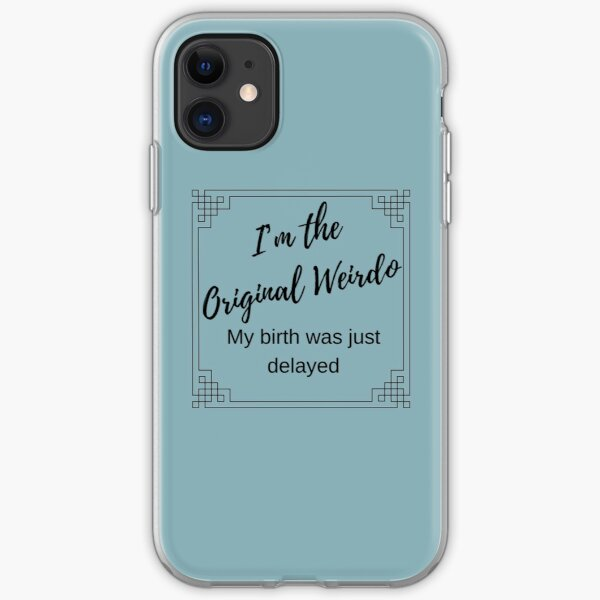 Original Weirdo iPhone Soft Case