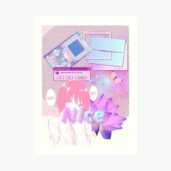 Cyber Kawaii Art Print