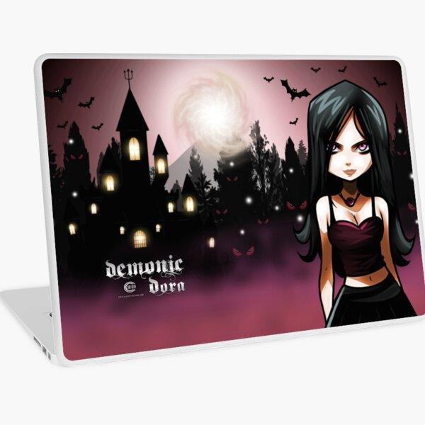 Demonic Dora Laptop Skin