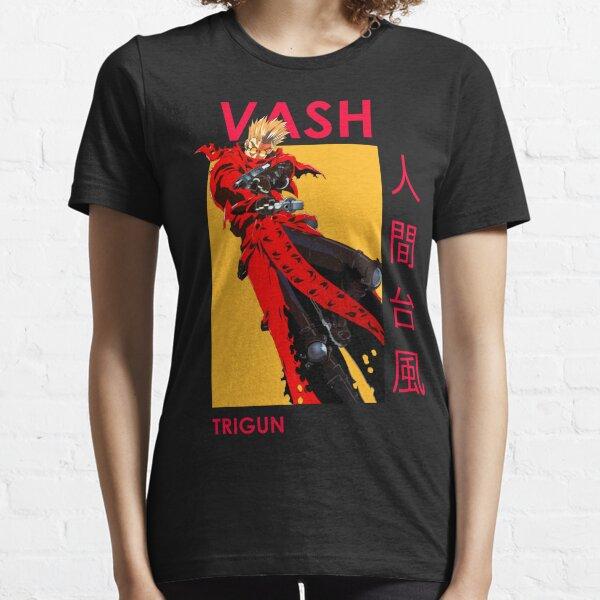 Trigun Vash the Stampede Dual Wield Anime Essential T-Shirt