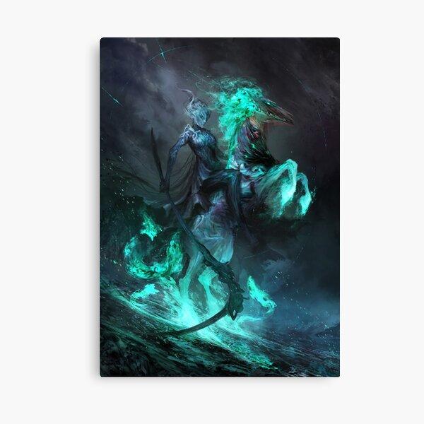 Death and Despair Canvas Print
