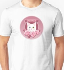 Dangerously Cute Cat Lover's Pink Delight T-Shirt