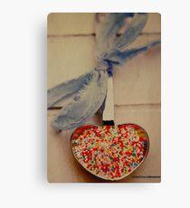 colorful love Canvas Print
