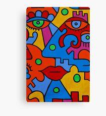 Picasso-esque Canvas Print