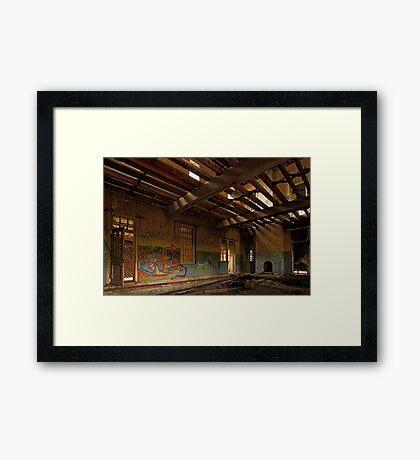 The Blue Room Framed Print
