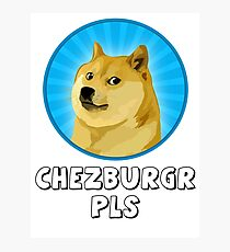 Doge Meme Photographic Print