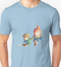 Legend of Zelda: Skyward Sword chibi Link and Groose Unisex T-Shirt