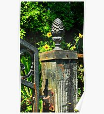 Iron Gate Post Poster