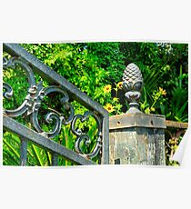 Old Iron Gate Poster