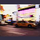 New York City, Taxi at Times Square von thomasrichter