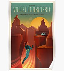 Valles Mariners Poster
