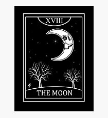 The Moon Tarot Photographic Print