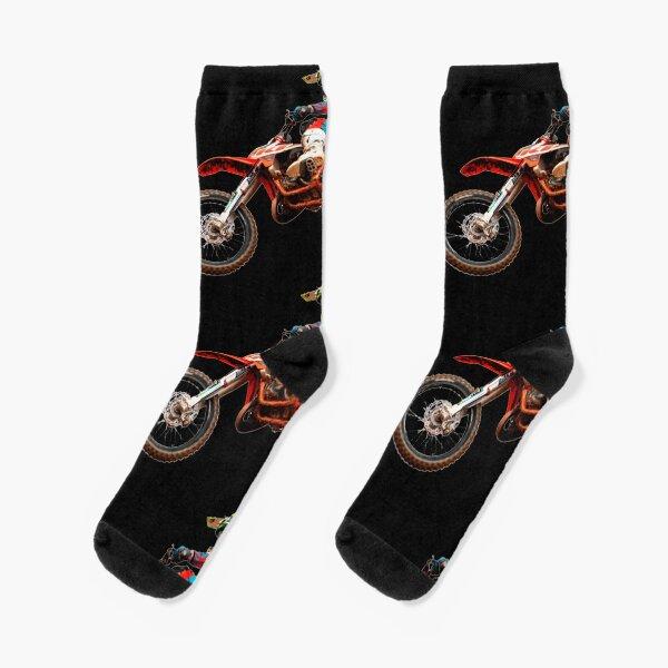 Dirt Bike Jumping Ktm Calcetines
