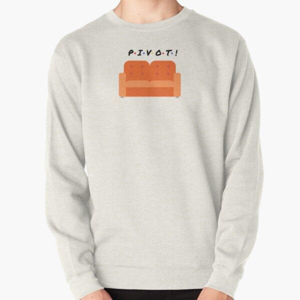 Orange Couch Pivot! Pullover Sweatshirt
