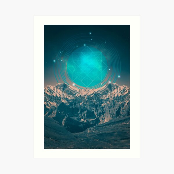 Made For Another World Art Print