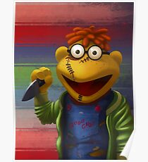 Muppet Maniac - Scooter as Chucky Poster