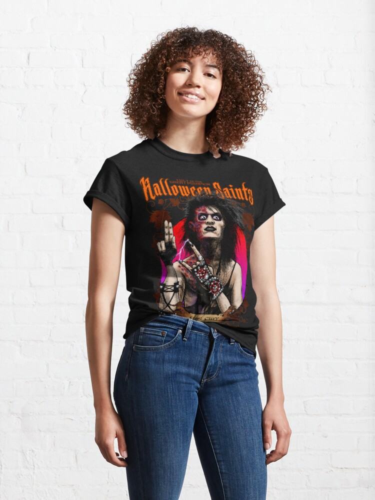 Alternate view of Halloween Saints: Sammi Curr Classic T-Shirt