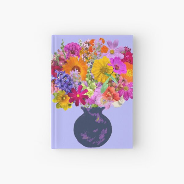 First day of spring bouquet by Tea with Xanthe Hardcover Journal