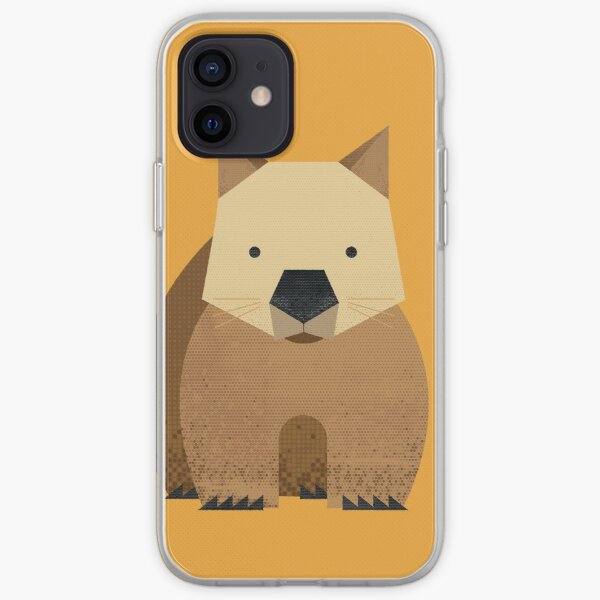 Whimsy Wombat iPhone Soft Case