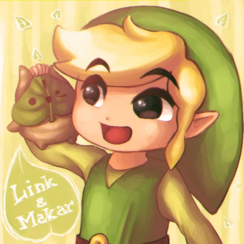Legend of Zelda: Wind Waker buddies by Zelbunnii