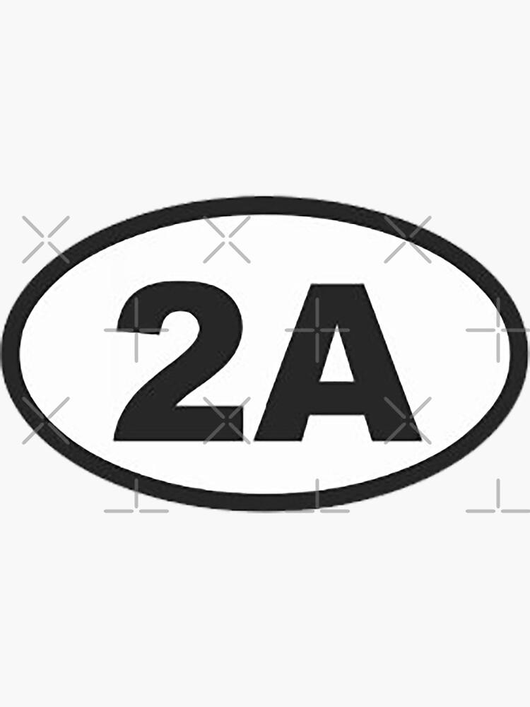 2A - 2nd Amendment  by unionpride