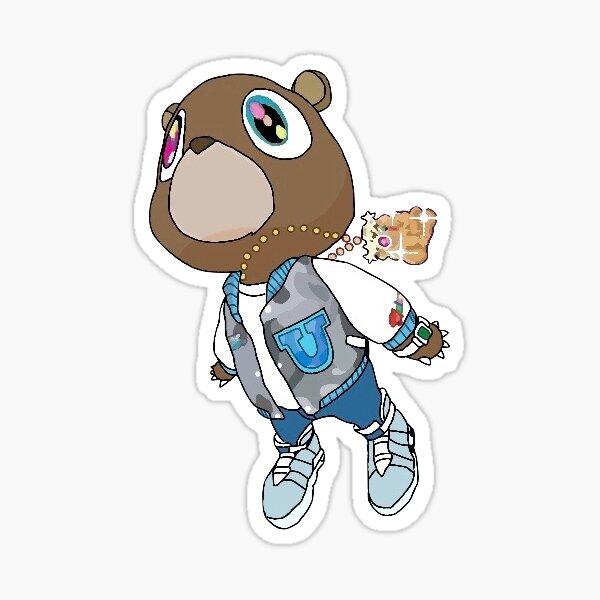 Graduation Bear Sticker