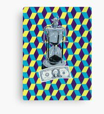 Time vs. Money Canvas Print