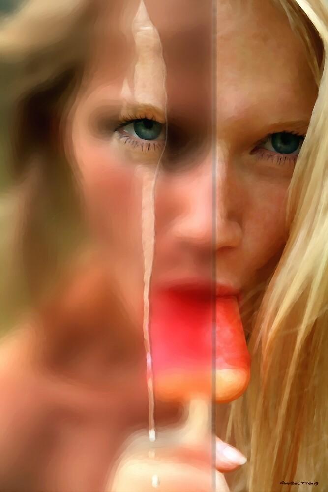 Hot Ice Girl by Gabriel T Toro