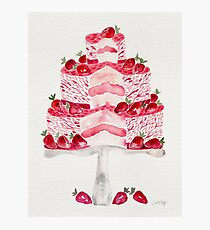Strawberry Shortcake Photographic Print