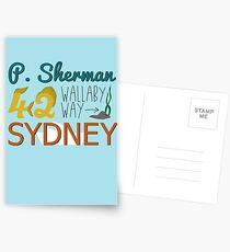 P. Sherman 42 Wallaby Way Sydney Postcards