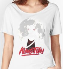 Kung Fury - Moon Women's Relaxed Fit T-Shirt