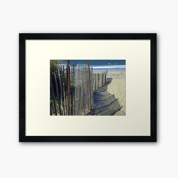 Rexhame Beach - Marshfield, Massachusetts Framed Art Print