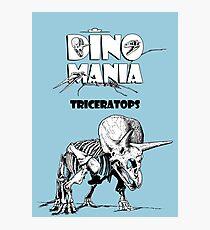 Dino Mania Triceratops Photographic Print