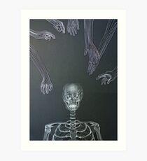 Reaching In Art Print
