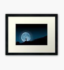 Moonlit Solitude Framed Print