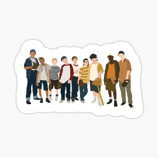 The Sandlot Sticker Sticker