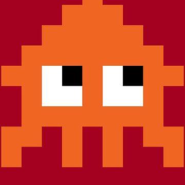 Pixel Squid (Splatoon Inspired) by 8-bit-hobo