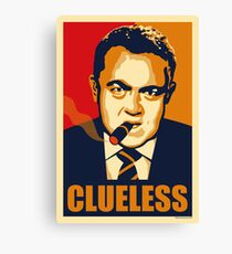CLUELESS Canvas Print