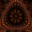 AztecPod Fractal by Susan Sowers